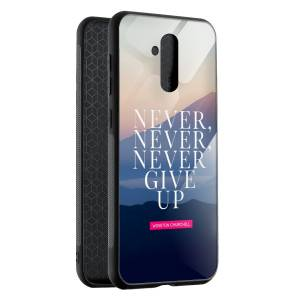 Husa BitCase Never Give Up Huawei Mate 20 Lite