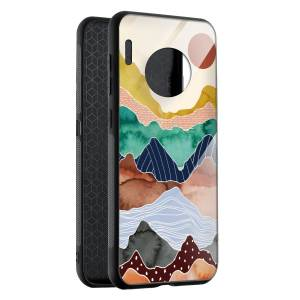 Husa BitCase Colorful Mountain Huawei Mate 30