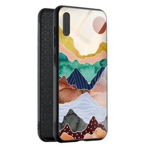 Husa BitCase Colorful Mountain Huawei P20