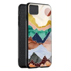 Husa BitCase Colorful Mountain pentru iPhone 11