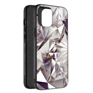 Husa BitCase Bright Crystal pentru iPhone 12 Mini