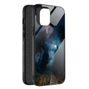 Husa BitCase Night Train pentru iPhone 12 Mini