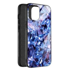 Husa BitCase Purple Crystal pentru iPhone 12 Mini