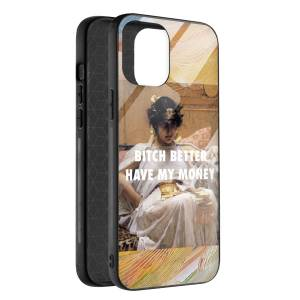 Husa BitCase Better Have My Money pentru iPhone 12 Pro