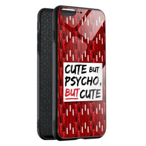 Husa BitCase Cute But Psycho pentru iPhone 7 Plus