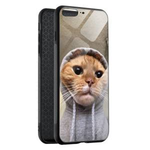 Husa BitCase Ghetto Cat pentru iPhone 7 Plus