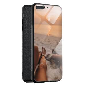 Husa BitCase Summertime Couple pentru iPhone 7 Plus