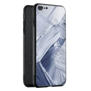 Husa BitCase Brush Effect pentru iPhone 7