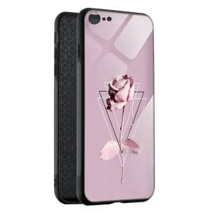 Husa BitCase Creamy Pink Rose iPhone 7