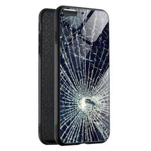 Husa BitCase Cracked Glass Effect iPhone 8 Plus