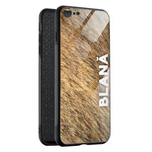Husa BitCase Blana iPhone SE (2020)