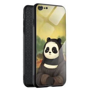 Husa BitCase Gioconda Panda iPhone SE (2020)