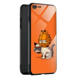 Husa BitCase Grumpy Garfield iPhone SE (2020)