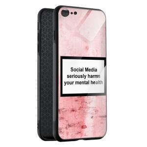 Husa BitCase Social Media iPhone SE (2020)