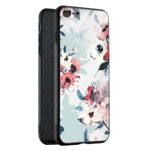 Husa BitCase Watercolor Flowers iPhone SE (2020)
