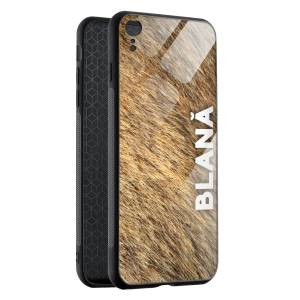 Husa BitCase Blana iPhone XR