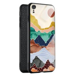Husa BitCase Colorful Mountain iPhone XR