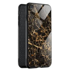 Husa Cracked Gold Marble iPhone XR