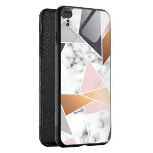 Husa Geometrical Marble iPhone XR