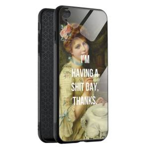 Husa BitCase Sh*t Day iPhone XR