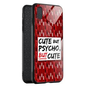 Husa BitCase Cute But Psycho pentru iPhone XS Max