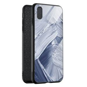 Husa BitCase Brush Effect pentru iPhone XS