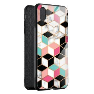Husa BitCase Hex Pastel Marble iPhone XS