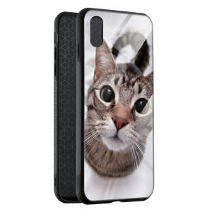 Husa BitCase Look at me pentru iPhone XS