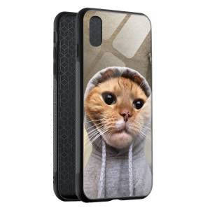 Husa BitCase Ghetto Cat iPhone XS