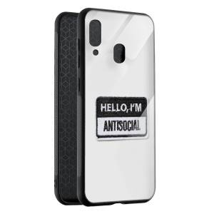 Husa BitCase Antisocial Badge Samsung A40