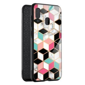 Husa Hex Pastel Marble Samsung A40