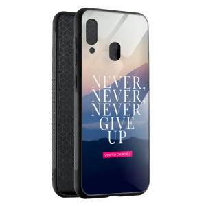Husa BitCase Never Give Up Samsung A40