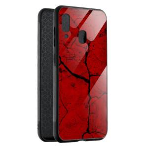 Husa Red Cracks Samsung A40
