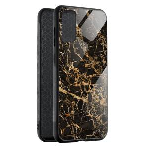 Husa Cracked Gold Marble Samsung A52/A52 5G
