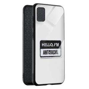 Husa Antisocial Badge Samsung A71