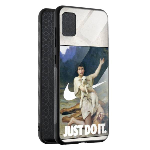 Husa BitCase Just Do It pentru Samsung A71