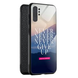 Husa BitCase Never Give Up pentru Samsung Note 10+