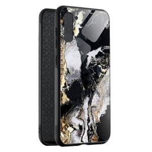 Husa BitCase Black & Gold Marble Samsung Note 10