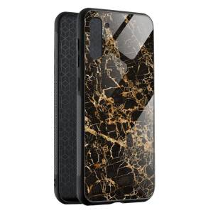 Husa BitCase Cracked Gold Marble Samsung Note 10