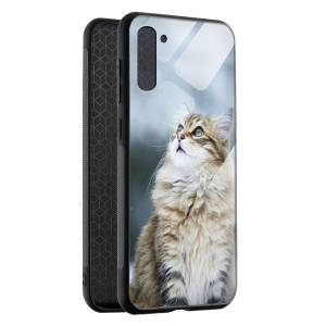 Husa BitCase Fluffy Snow Cat Samsung Note 10