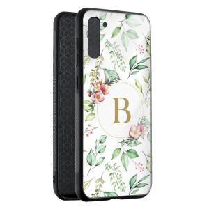 Husa Initiala Nume Floral Samsung Note 10