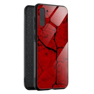 Husa BitCase Red Cracks Samsung Note 10