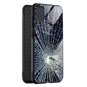 Husa BitCase Cracked Glass Effect Samsung S20+