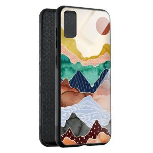 Husa BitCase Colorful Mountain Samsung S20