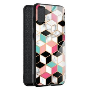 Husa Hex Pastel Marble Samsung S20