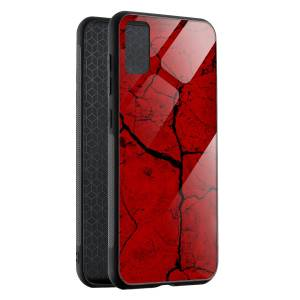Husa BitCase Red Cracks Samsung S20