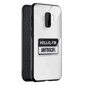 Husa BitCase Antisocial Badge Samsung S9+