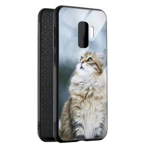 Husa BitCase Fluffy Snow Cat Samsung S9